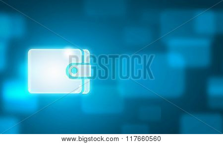 Man choosing application icon