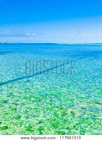Lagoon Summer Scene