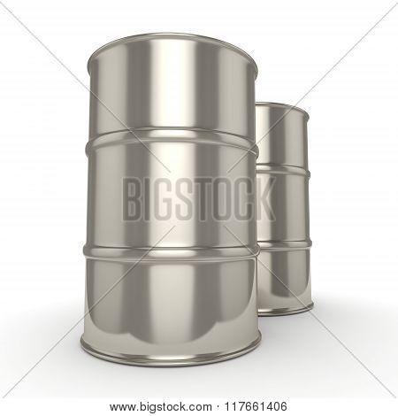 Many Chrome Barrels
