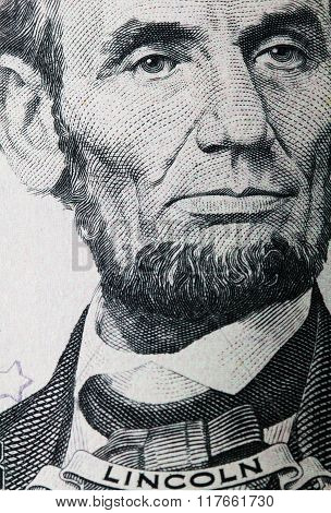 Lincoln dollar portrait