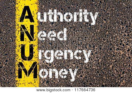 Business Acronym Anum