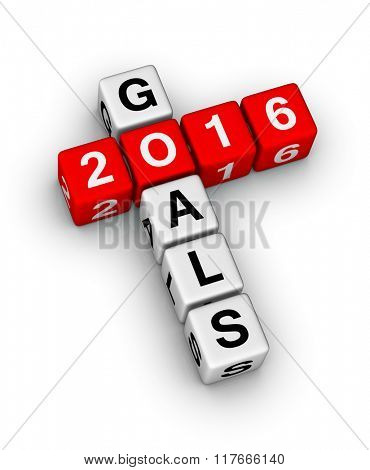 2016 Goal crossword puzzle