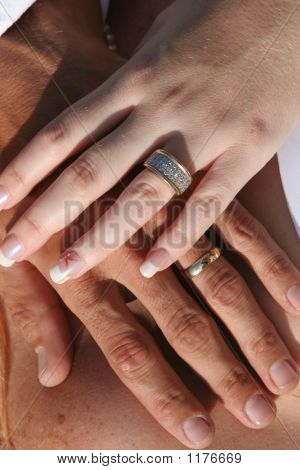 Wedding Couple - Hands And Rings