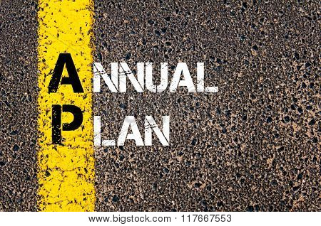 Business Acronym Ap Annual Plan
