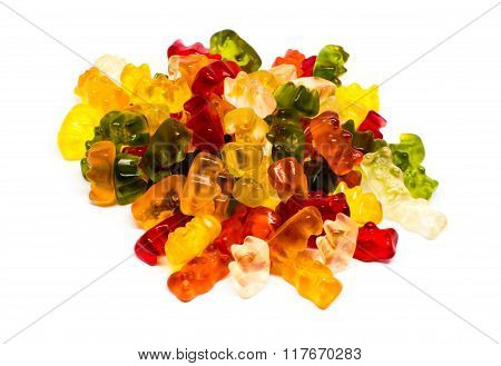 Heap of jelly bears