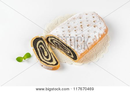 poppy seed roll on lace place mat