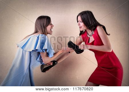 Quarrel between sisters