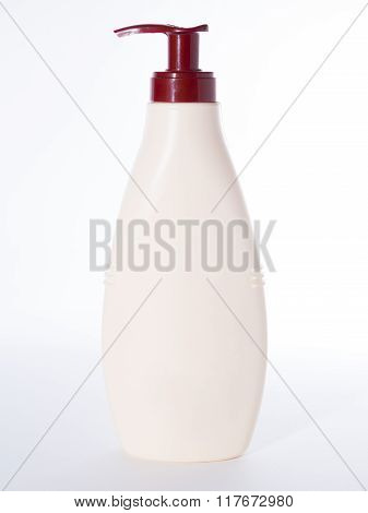 Dispenser Pump Cosmetic Or Hygiene, Plastic Bottle Of Gel, Liquid Soap, Lotion, Cream, Shampoo - Iso