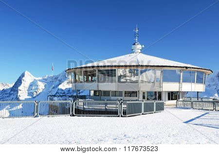 View from Schilthorn mountain, Switzerland