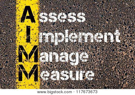 Business Acronym Aimm