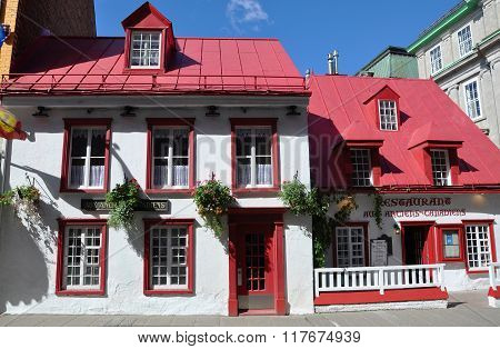 French Style House in Old Quebec City
