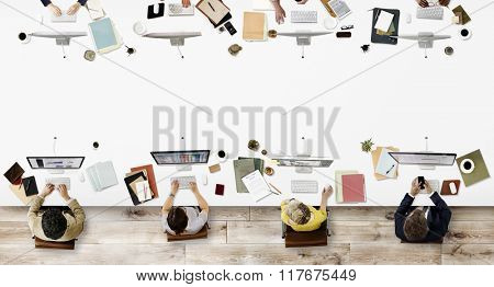 Office Professional Occupation Business Corporate Concept