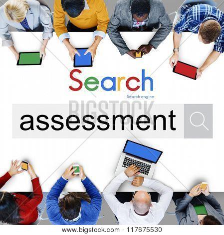Assessment Evaluation Review Survey Concept