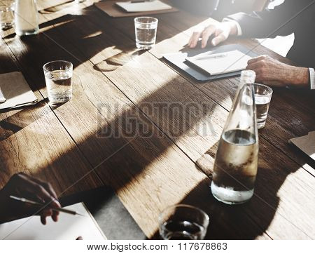 Meeting Seminar Conference Strategy Office Working Concept