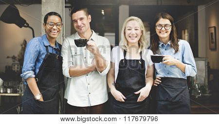 Cafeteria Barista Cafe Occupation Restaurant Concept