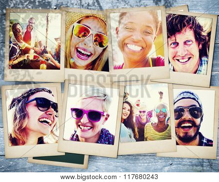 Friends Friendship Portrait Togetherness Fun Concept