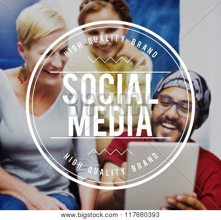 Social Media Communication Technology Internet Concept