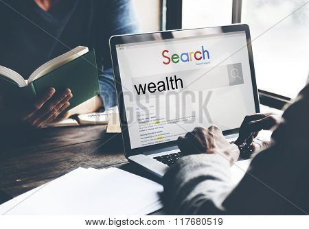 Affluence Growth Profit Savings Wealth Investment Concept