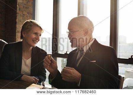 Business Discussion Communication Unity Ideas Concept