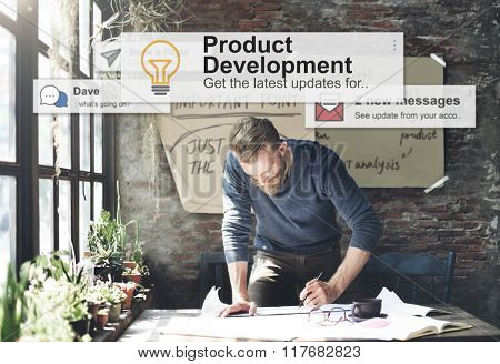 Product Development Productivity Efficiency Supply Concept