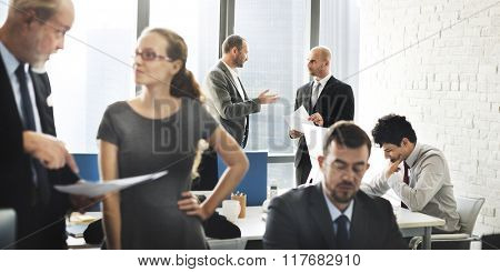 Business Team Discussion Meeting Corporate Concept