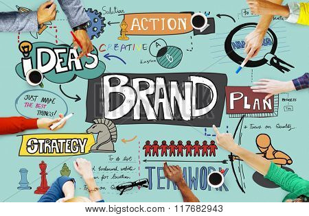 Brand Trademark Advertising Marketing Product Concept