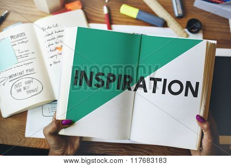 Ideas Creative Inspiration Start up Reading Concept