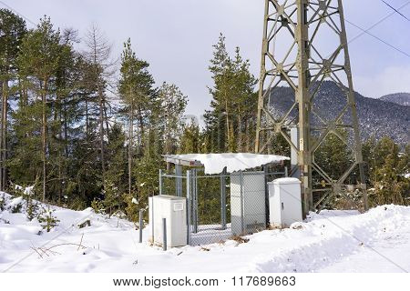 Electricity Sub Station And Pylon