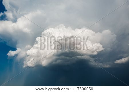 Sky With Stormy Clouds Epic Background