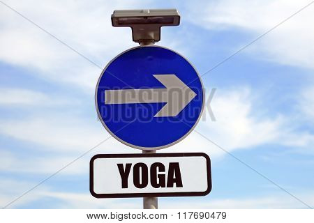 Yoga path, direction in life, meaning