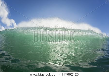 Wave Swimming Ocean