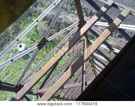 View From Height Of A Water Tower