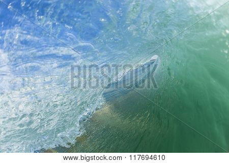 Wave Inside Swimming