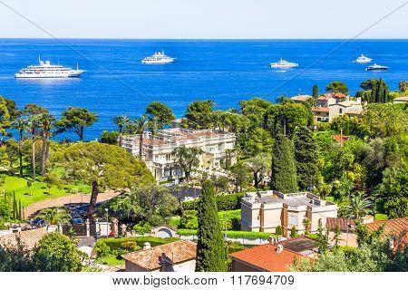 Aerial View Of Cap Ferrat, French Riviera
