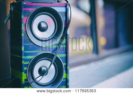 Colorful Modern Speaker