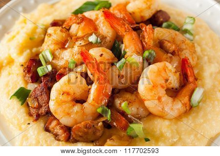 Homemade Shrimp And Grits
