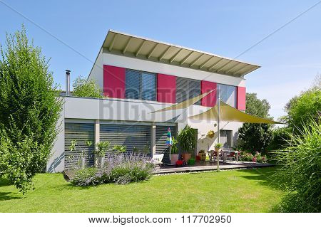 Modern House With Nice Garden