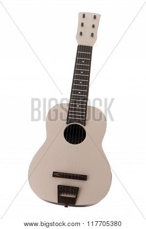 Beige Guitar Toy