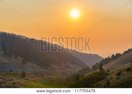 Bighorn Mountain Sunrise