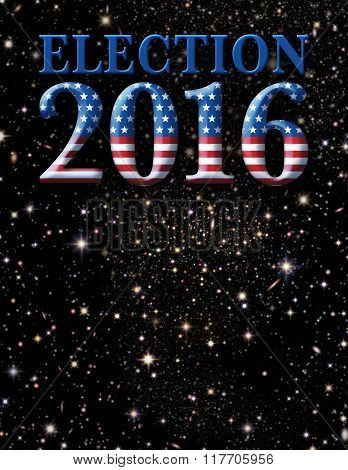 Election 2016 Stars And Stripes