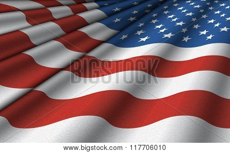 United States Flag Background