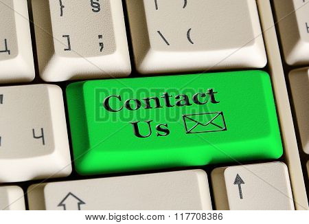 Contact Us On E - Mail