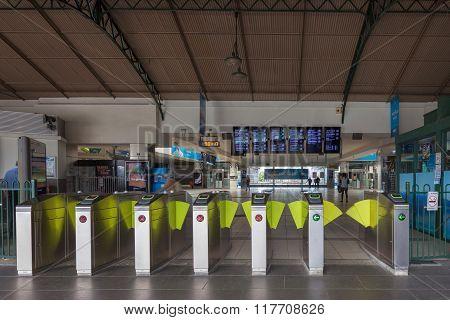 Flinders street railway station entrance gates