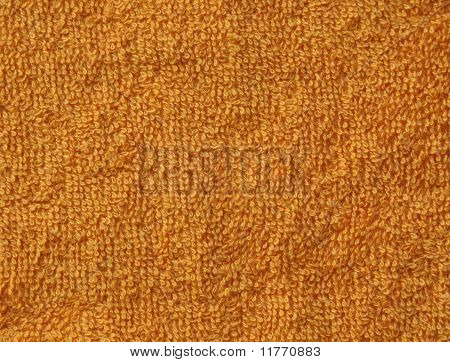 orange towel background