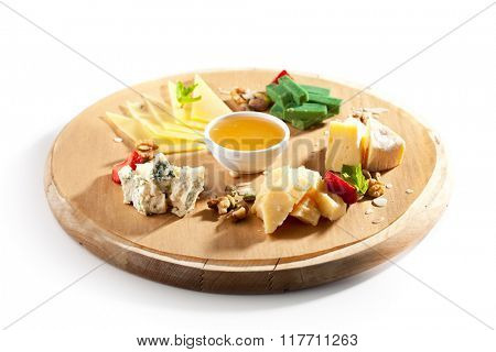 Delicious Cheese Platter