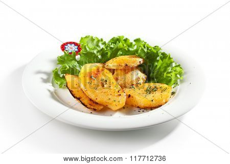 Fried Potato Slice