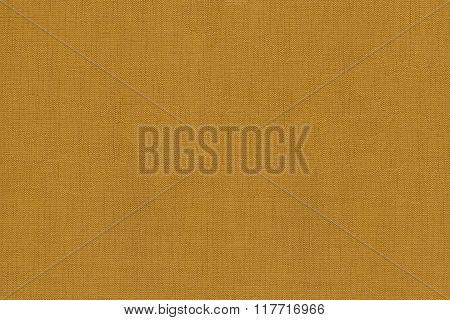 Woven mustard yellow warp background