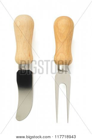 cheese knife isolated on white background