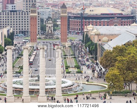 Monuments Of Barcelona