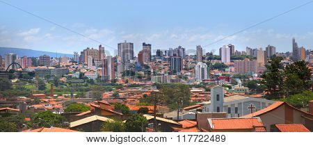 SOROCABA, BRAZIL - JANUARY 17: Downtown Sorocaba in Brazil on January 17, 2013 in Sorocaba.Eigth largest city in Sao Paulo state , Its export to over 115 countries, with an income of US$370 mn yearly